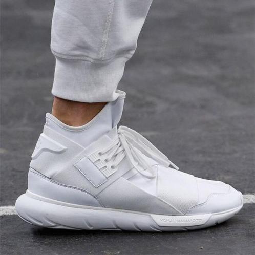 Adidas Y3 Qasa High Triple White - ค้นหาด้วย Google  a4a77ce9c0a0