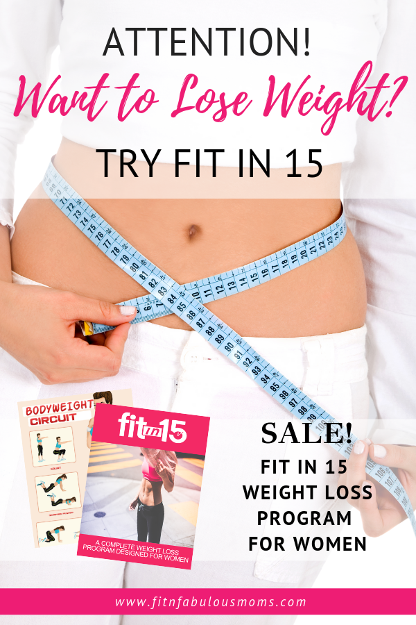 Fit in 15 eBook: A Complete Weight Loss Guide for Women