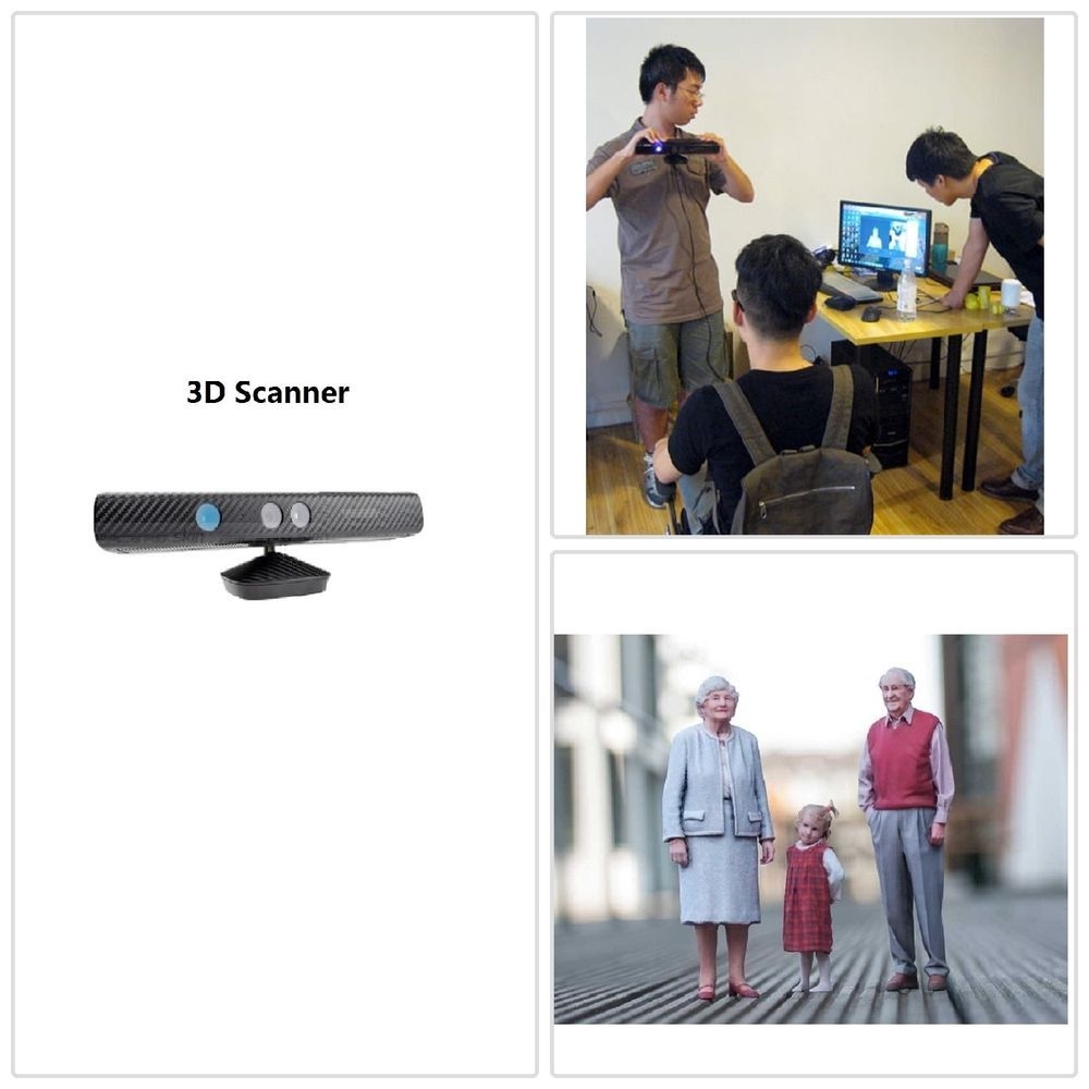 3D scanner High Handheld body face object scan Modeling + Software