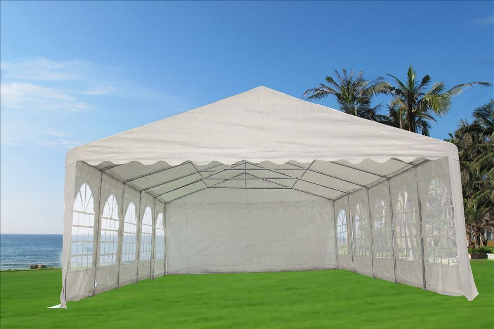 32 X20 Pvc Party Tent Fr Wedding Canopy Shelter Fire Retardant White Event Tent Party Tent Tent