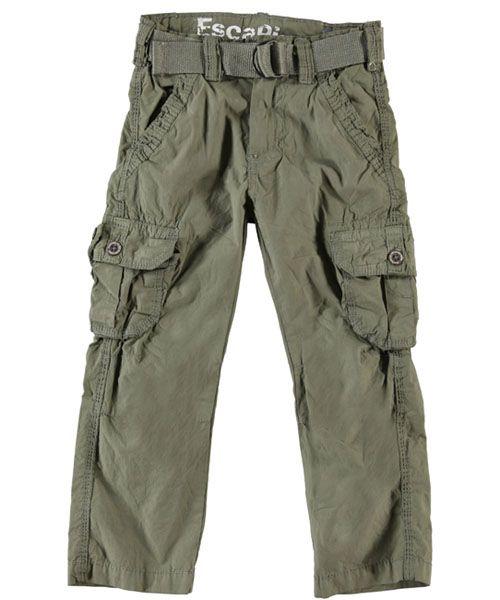 "Escapism ""Lawrynce"" Belted Cargo Pants (Sizes 4 – 7) - CookiesKids.com"