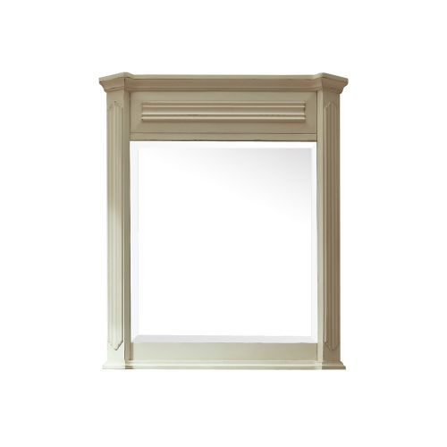 Avanity KINGSWOOD-M30-DW Kingswood Distressed White Bathroom Mirror 28 x 3.1 x 35