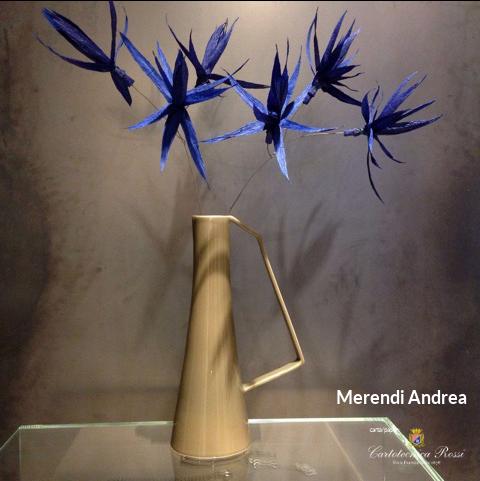 Crepe Paper Flowers / Fiori in carta crespa - Artist/Artista: Andrea Merendi - Paper/Carta: Cartotecnica Rossi
