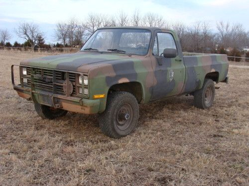 My son has one of these sweet rides  1985 Chevrolet M1008