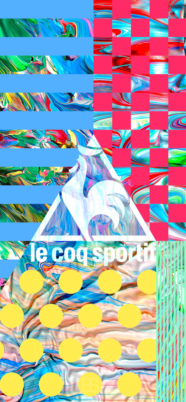 LeCoq_Sportif iPhone X Ratio Series Wallpaper
