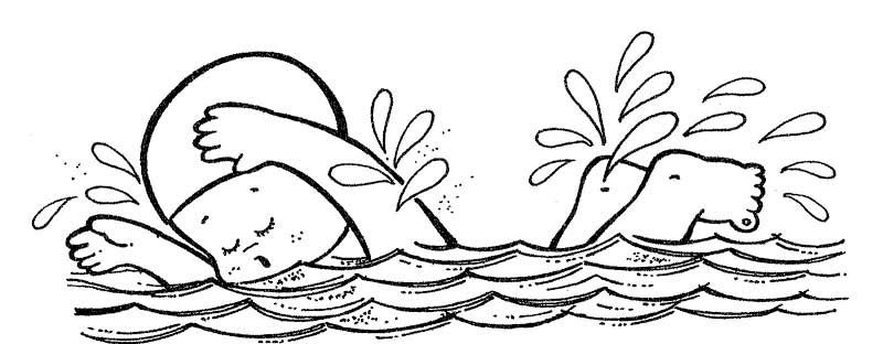 Colorear natación - Deportes | Kinder-Ideas | Pinterest
