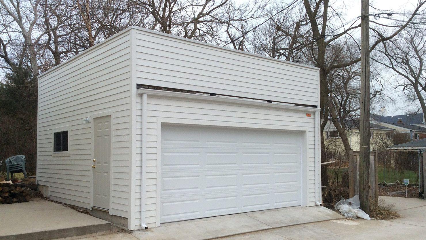 Custom Garages Garage Builders Flat Roof Garage