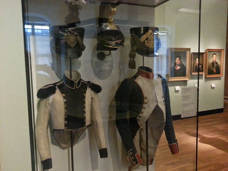 French Infantry Uniforms In Deutsche Historicher Museum Berlin