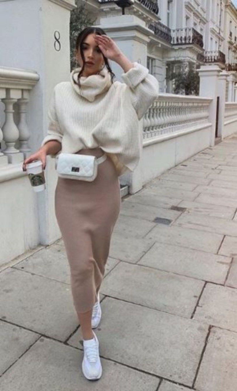 7d559f0190851 Best Mix Casual And Modest Outfits For Winter Fashion 40 | Style ...