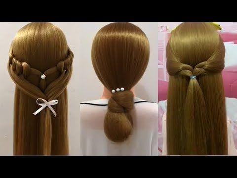 Peinados faciles en solo 1 minuto  Peinados para niñas  Peinados de