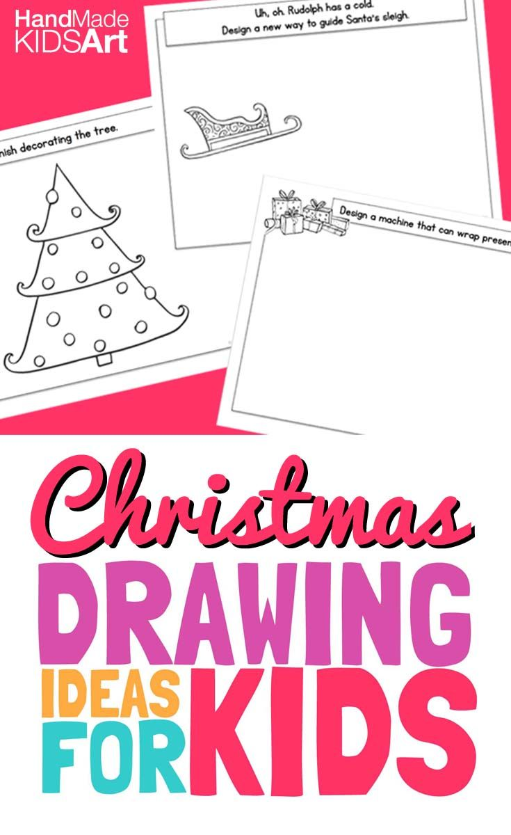 Creative christmas cards to draw