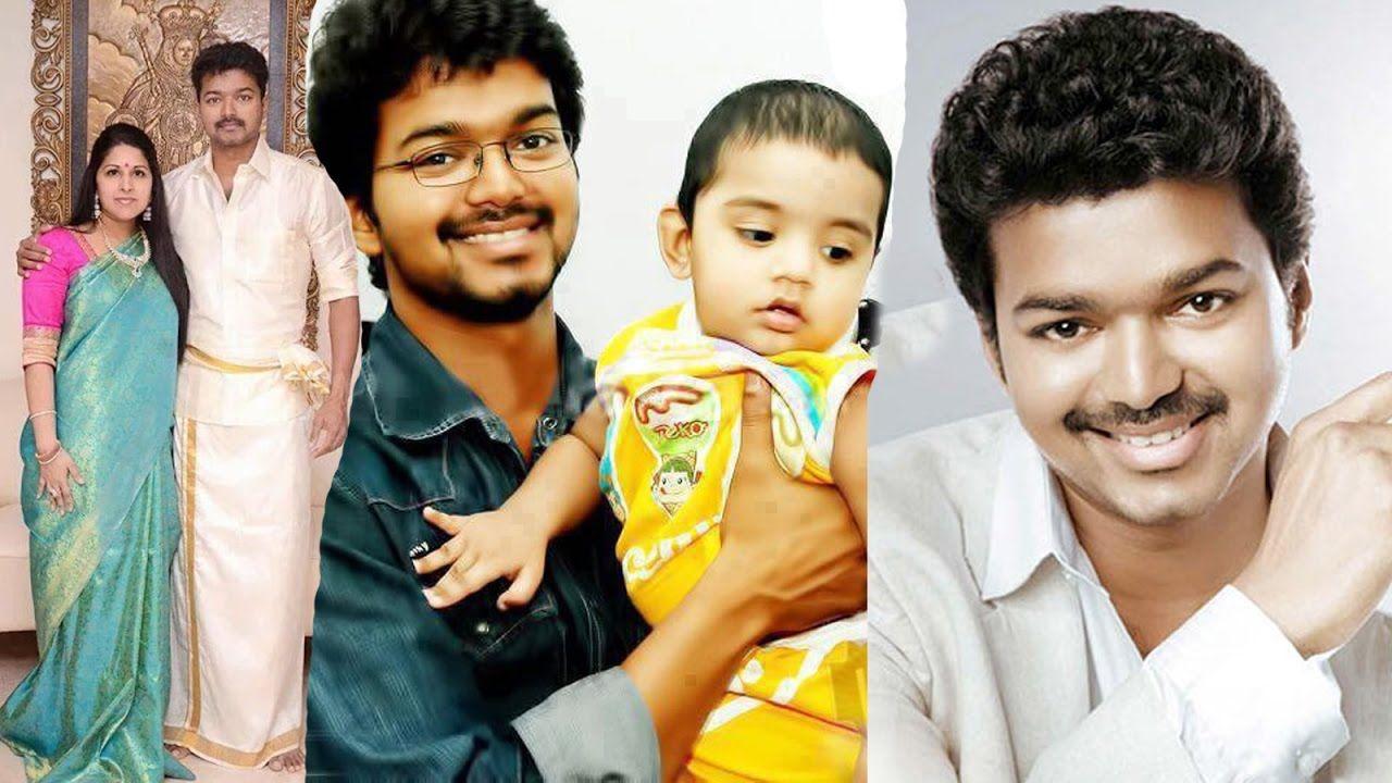 Ilayathalapathy Vijay Family Photos / Actor Vijay Family Photos