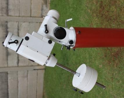 Backyard Telescope Pier for EQ6 Sky-Watcher telescope mount