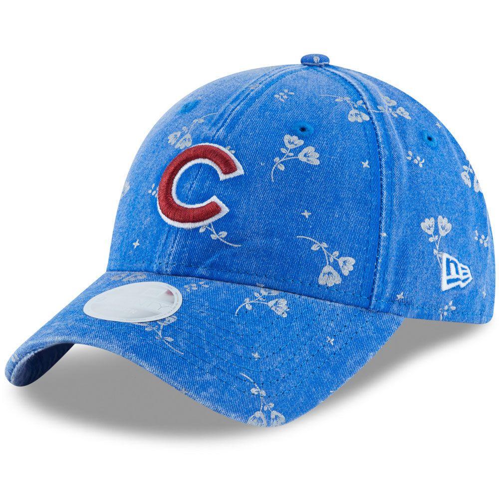 636b3830c8ada7 Chicago Cubs Women's Floral Shine 9TWENTY Adjustable Hat by New Era® # ChicagoCubs #Cubs