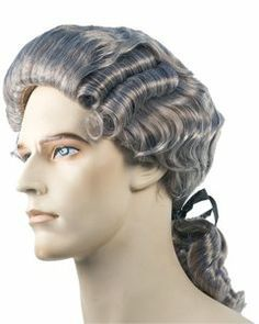 Discount Colonial Man Washington 18th Century Wig by Lacey Costume Price    29.03 c41d2c1eaff1