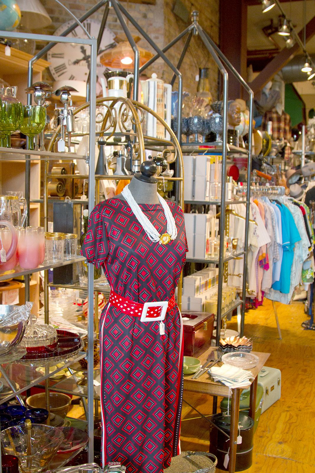 Store B Vintage While the prices are a bit higher at this small Wicker Park  shop, items (from housewares to clothing to accessories) are in good  condition, ...