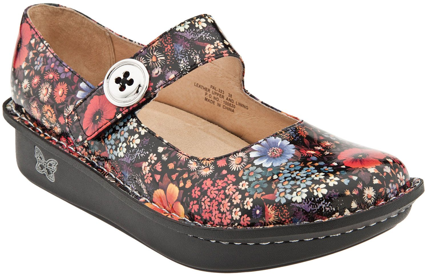 Happiness is exactly what you will be feeling when you put on a pair Alegria  Shoes