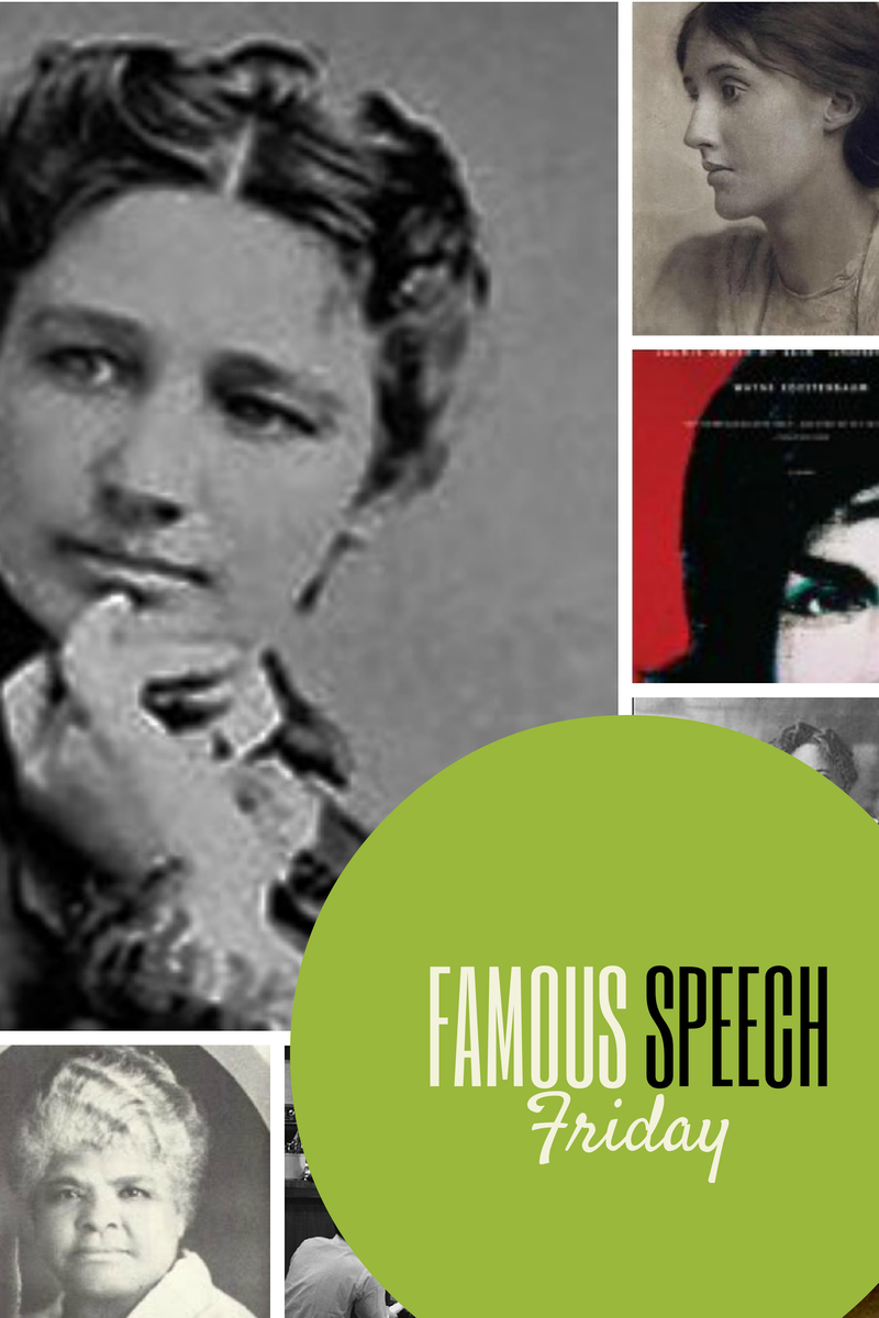 The Eloquent Woman: The Eloquent Woman Index reaches 150 famous speeches by women. Please share this resource with video, audio, text and lessons any speaker can learn from these famous speeches! #famousspeeches