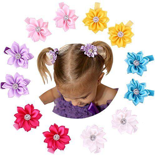 girl barrettes bows for girls lavendar hair bow Girl hair clips hair clips for girls