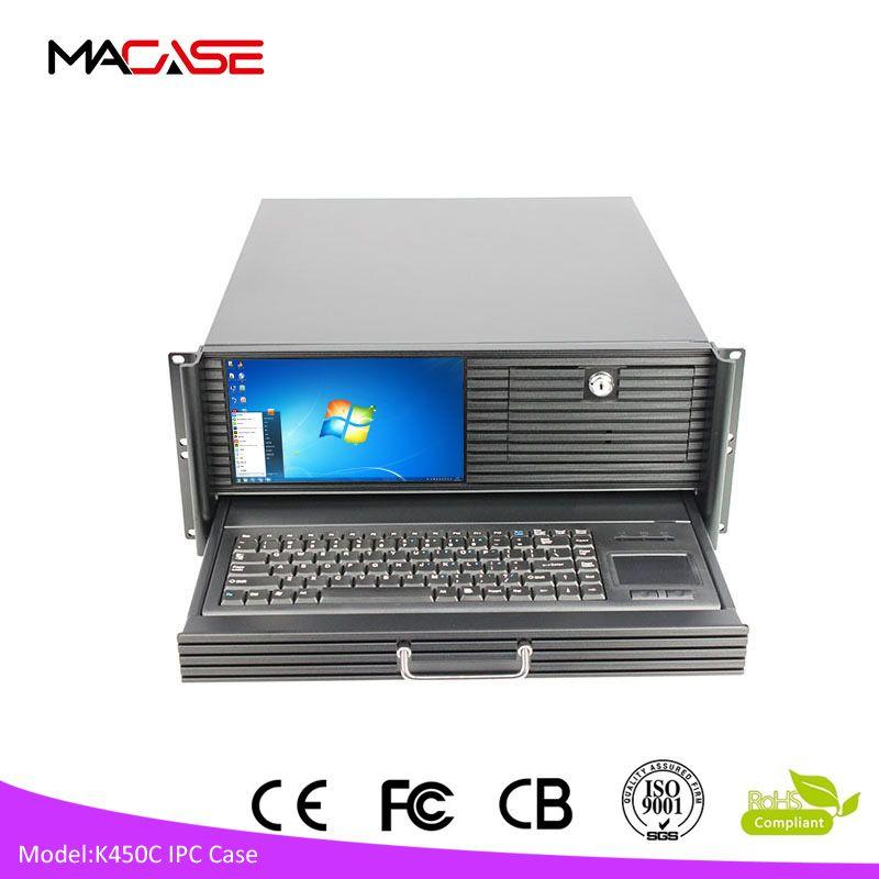 With Power Supply 19 Rack Computer Case 19 Inch Atx Industrial 4u Rack Mount Computer Case Videos Room Computer Case Case