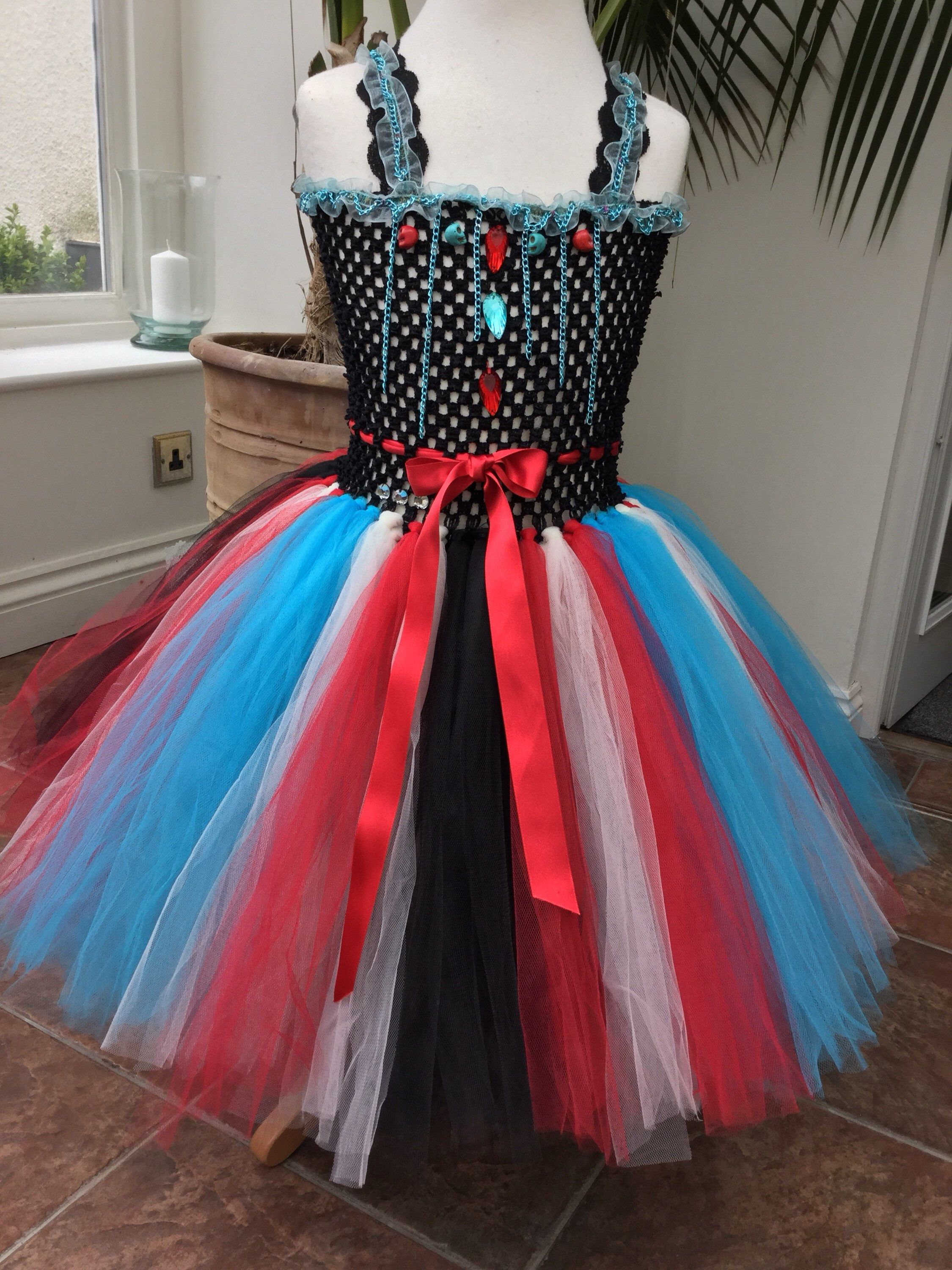 Scary skulls and chains Monsters tutu. Great for a photo shoot, or ...