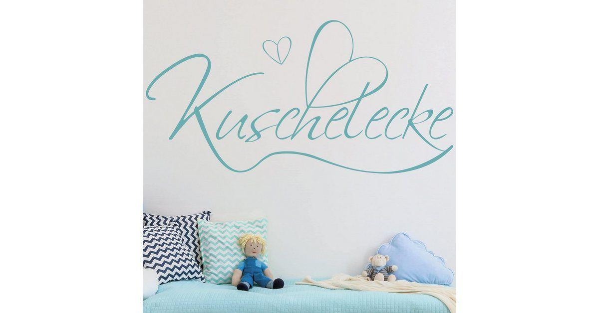 Bilderwelten Wandtattoo »Kuschelecke«, Wandtattoo aus selbstklebender, glatter Wandfolie online kaufen | OTTO