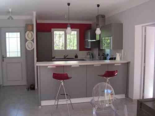 50 idées originales pour la déco cuisine rouge à vous faire - Photo Cuisine Rouge Et Grise