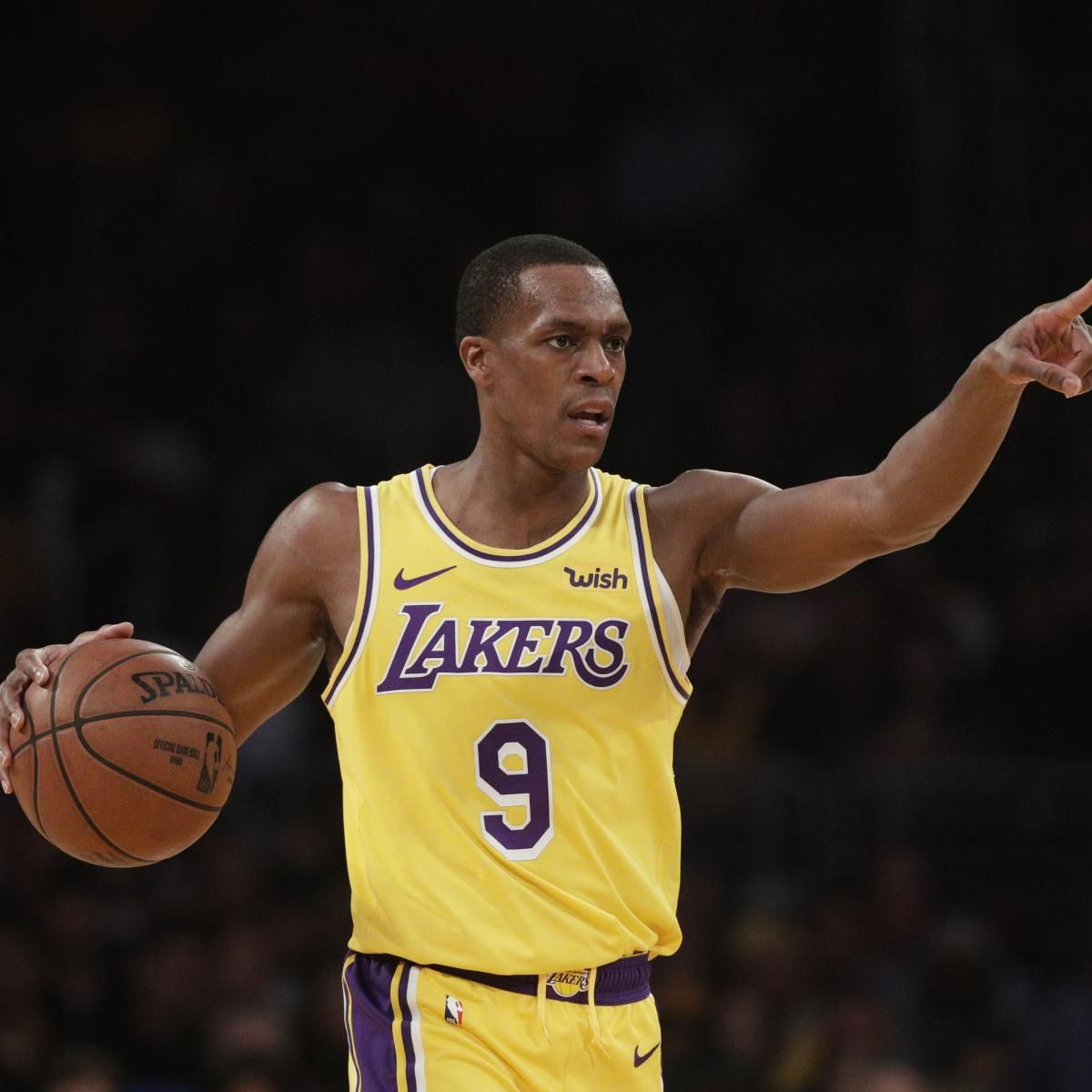 Lakers News Rajon Rondo Absolutely Wants Return To La Next Season Lakers Basketball Star Franklin The Turtle