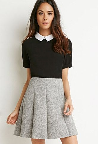0e6935f7d Scuba Knit Skater Skirt | Products in 2019 | Outfits, Skirt outfits ...