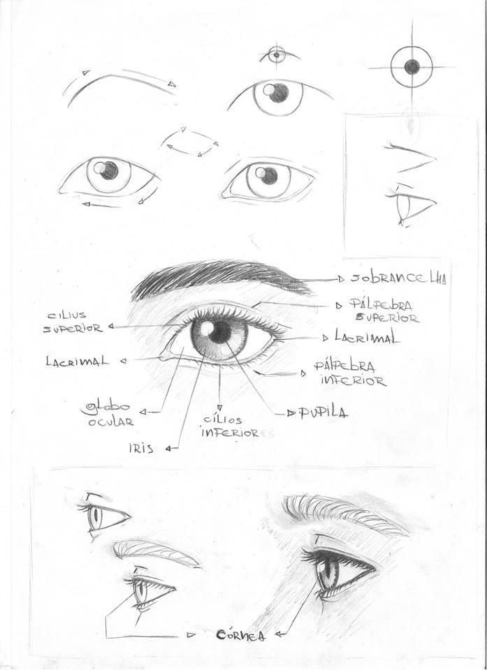 Anatomia e Expressão corporal | dibujo rostro | Pinterest | Schilder ...