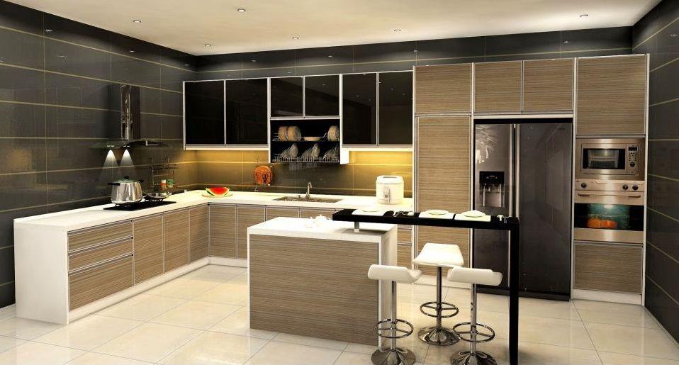 Best Dry And Wet Kitchen Kitchen Design Contemporary Kitchen 400 x 300