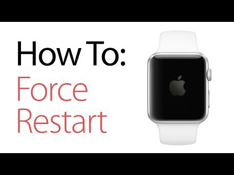 How to Force Restart and Reset Your Apple Watch - YouTube