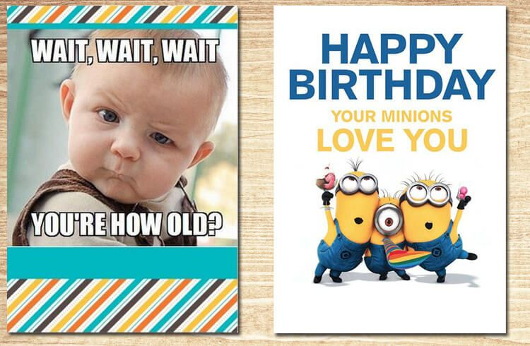 funny birthday card Greeting Cards Pinterest – Comical Birthday Greetings
