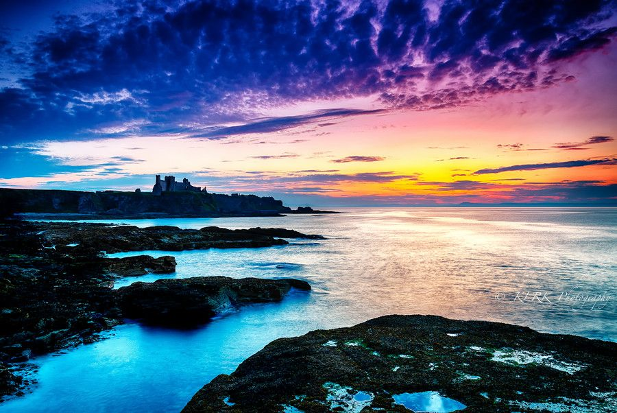 Tantallon Sunset. by Kevin Ainslie on 500px