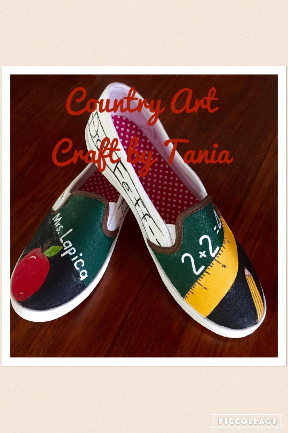 04008ee745199 Pin by Kaitlyn Glenn on shoes | Painted canvas shoes, Teacher shoes ...