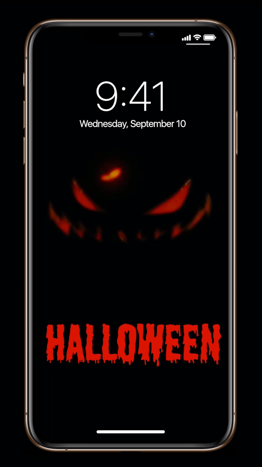 Halloween live wallpapers for iPhone!