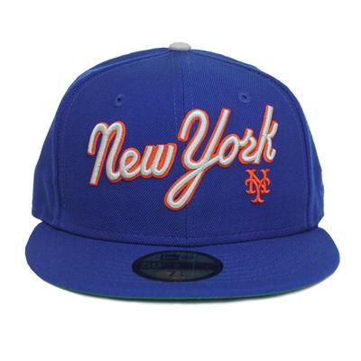 18c8711ce15 1987 Mets (ROYAL) - New Era fitted - The 7 Line - For Mets fans