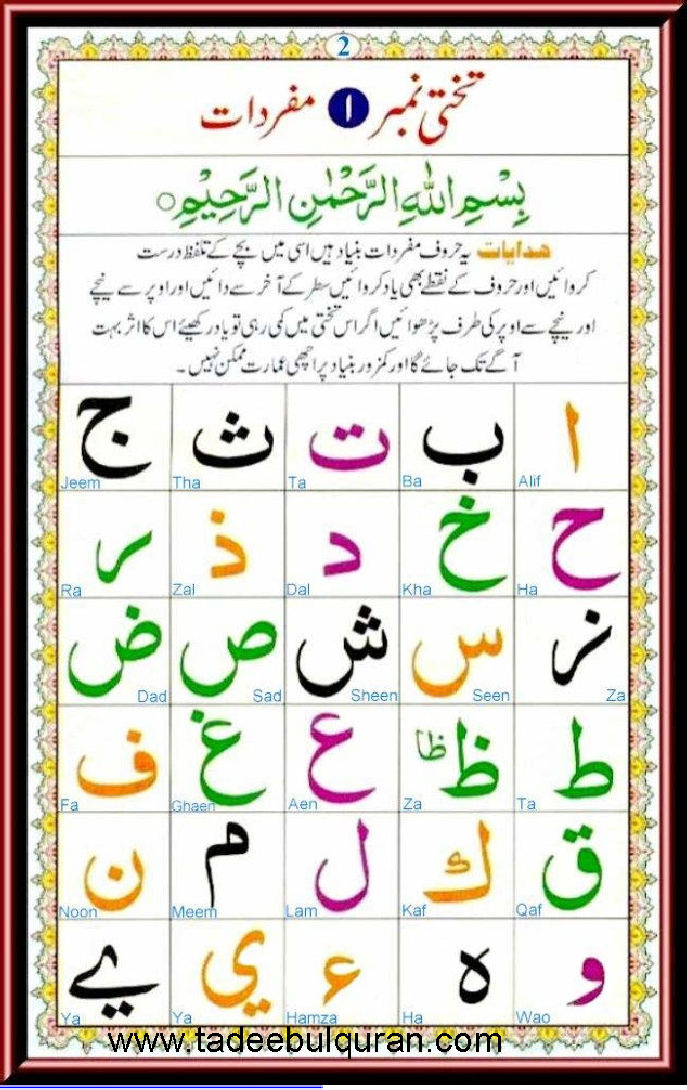 Learn quran online from basic arabic alphabets for students of all ...