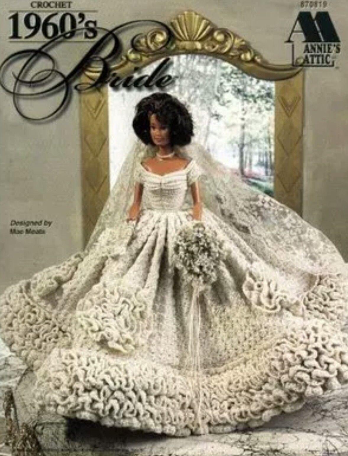 Pin by Sheri Thomason on Barbie Wedding Crocheted   Pinterest   Ropa ...
