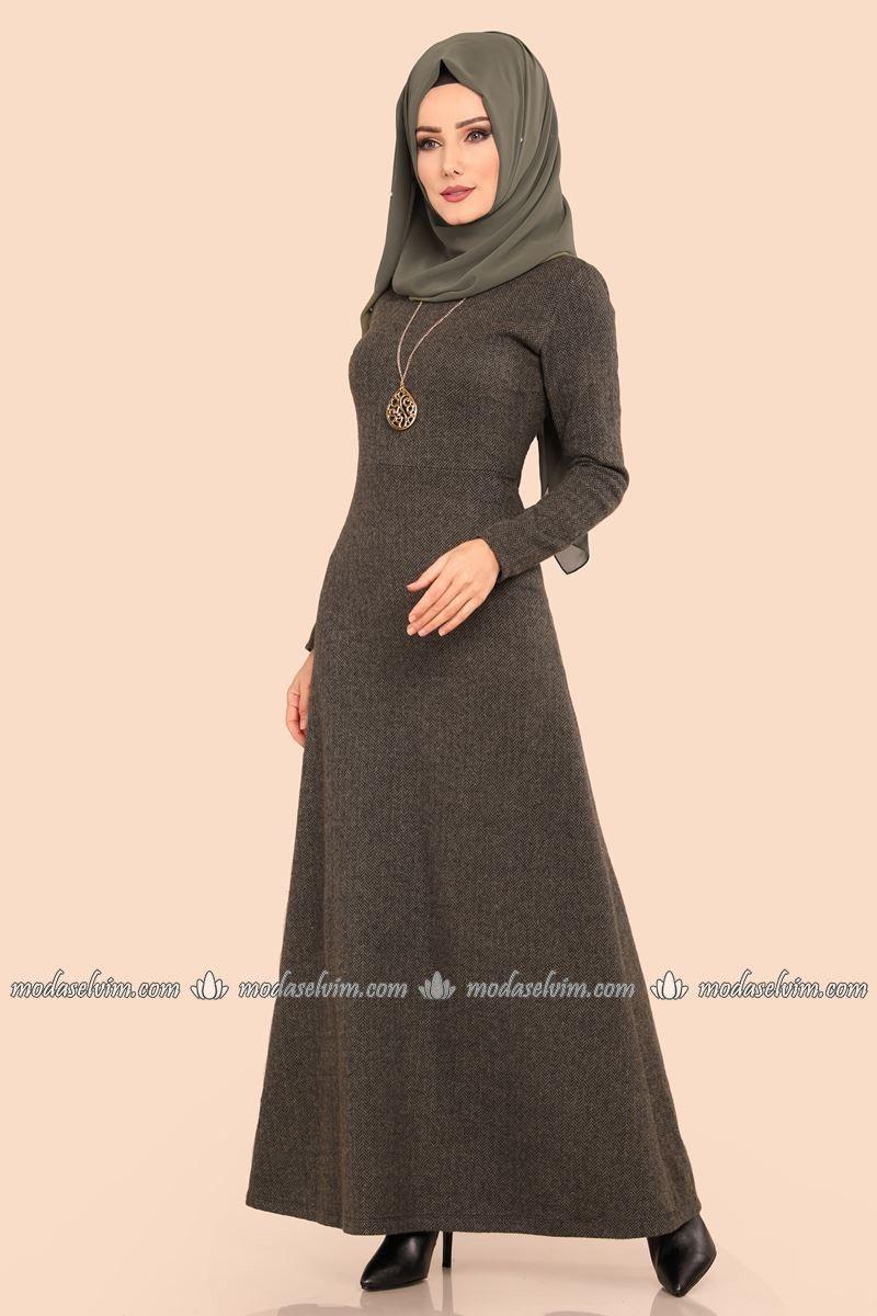 390ddda1c9340 Modaselvim 2019 Tesettür Elbise Modelleri | Tesettür | Elbise ...