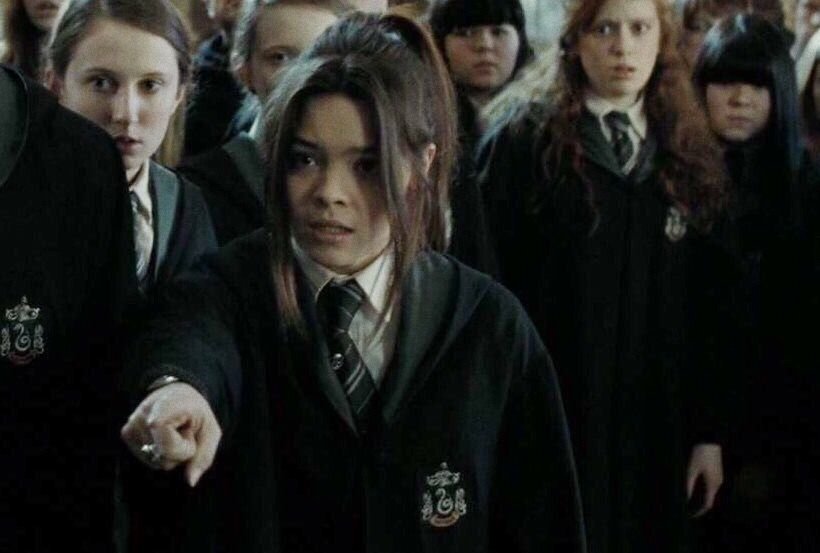 Pin By Keva Huertas On Harry Potter Pansy Parkinson Scarlett Byrne Pansy Parkinson Harry Potter Pictures