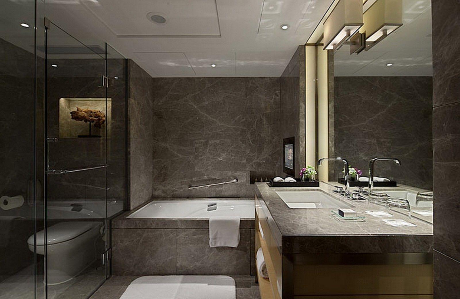 Brilliant Best 20 Bathroom Design Ideas Like 5 Stars Hotel Https Hroomy Com Bathroom Best 20 Ba Hotel Bathroom Design Bathroom Design Modern Luxury Bathroom