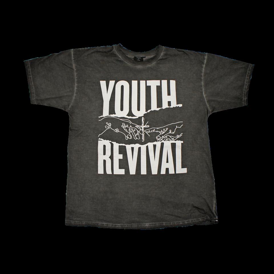 Youth black t shirt - Y F Black T Shirt Youth Revival Hillsong Store Usa
