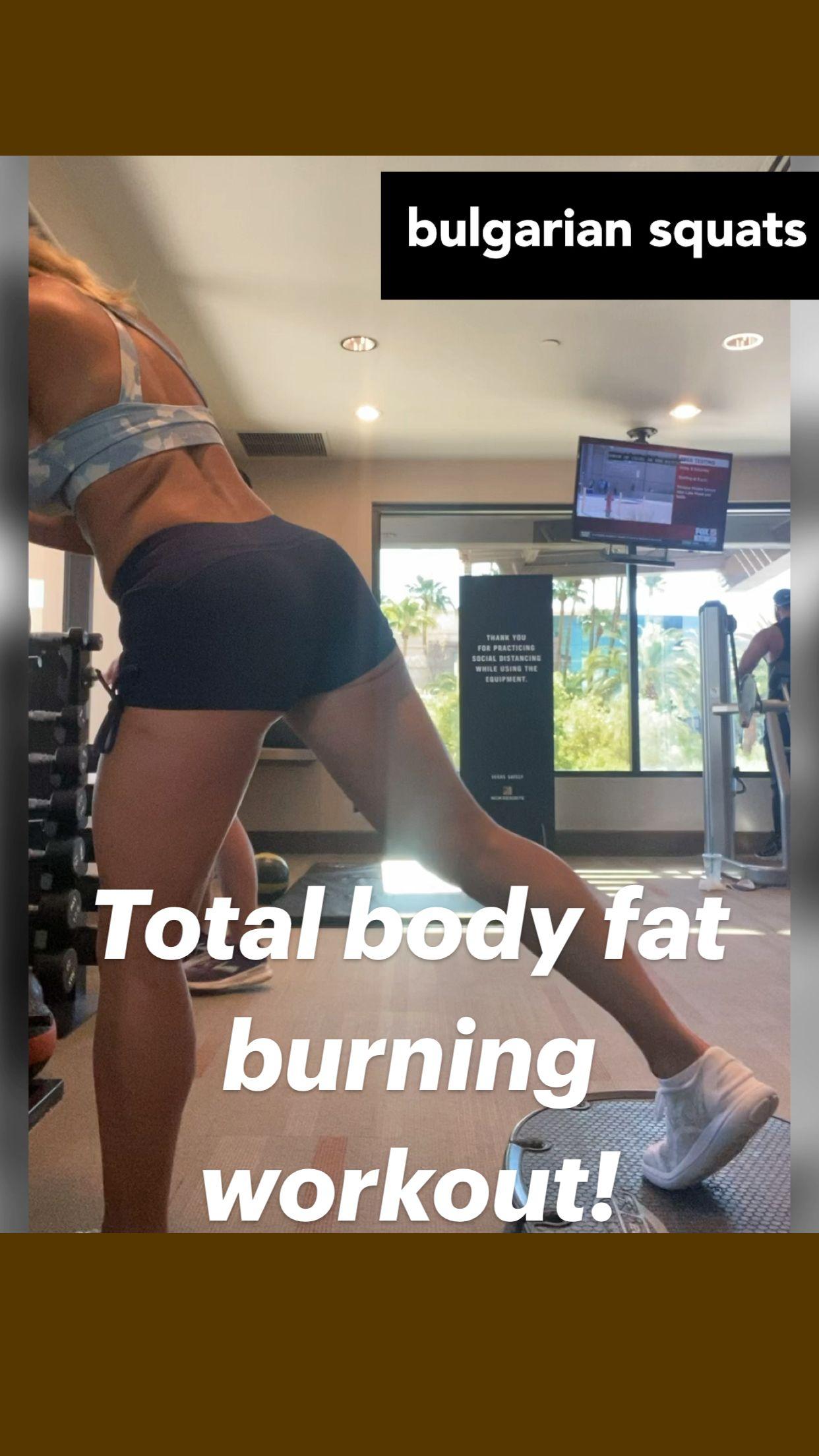 Total body fat burning workout!
