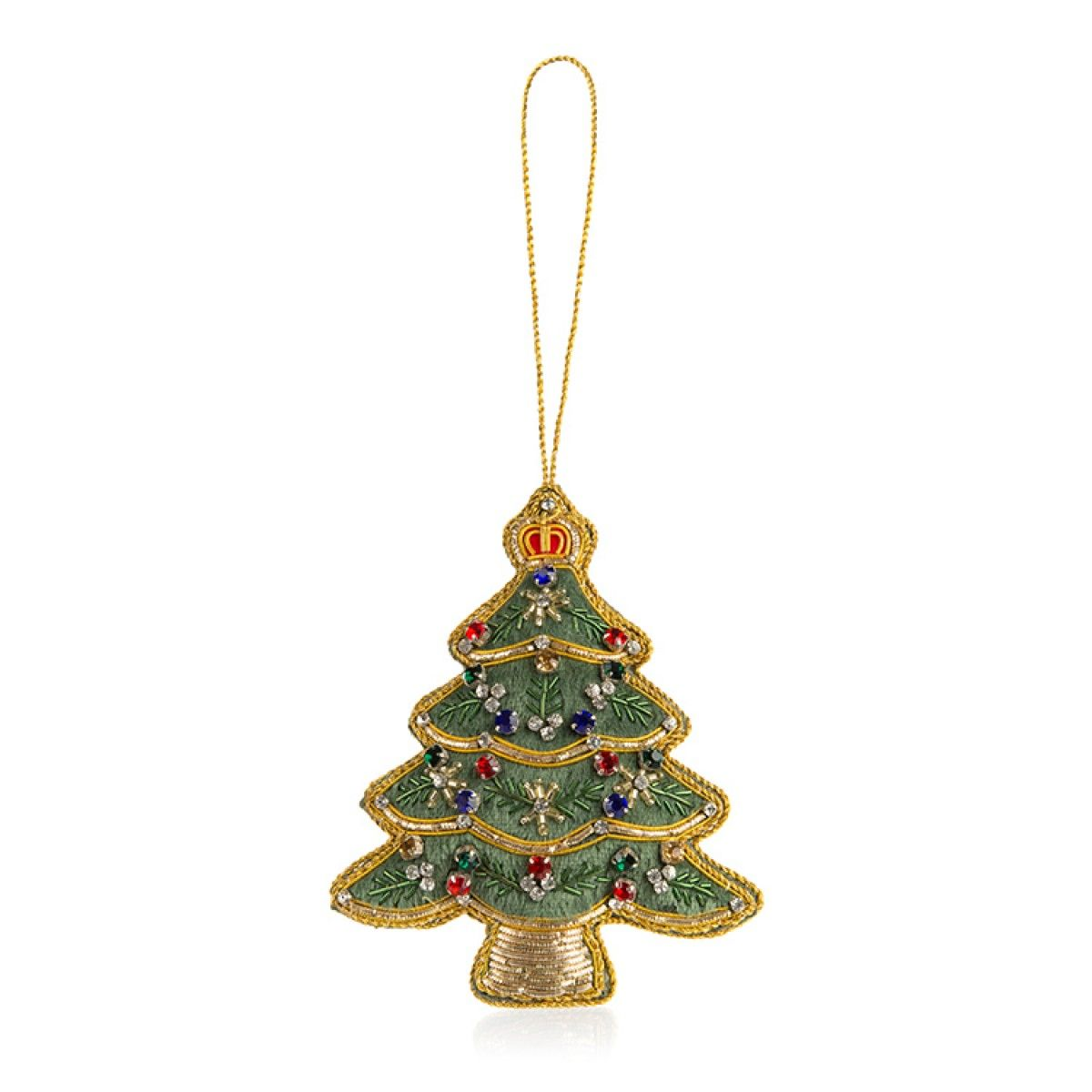 Buckingham Palace Christmas Tree Decoration Green Christmas