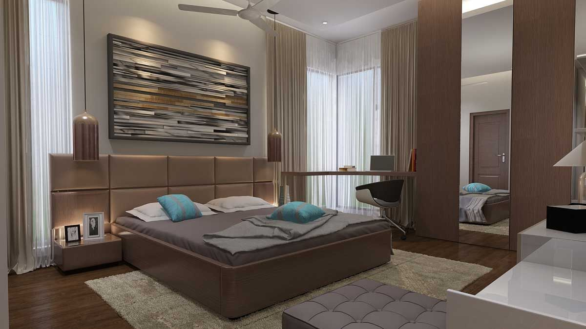 Residence Interior In Omr Chennai Architects Interior Designers With Images Interior Bedroom Design Interior Design