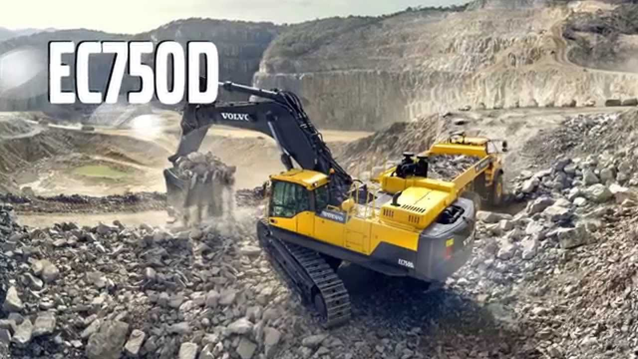 Volvo Ec750d Crawler Excavator Promotional Video Pinterest Construction Equipment Wiring Diagrams Tonka Toys Commercial Photography Heavy