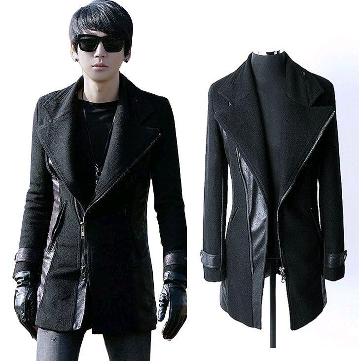2015-Fashion-Winter-Mens-Jackets-And-Coats-Men-Wool-Pea-Coat ...