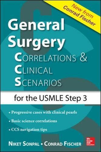 General Surgery Correlations And Clinical Scenarios Books Pdf