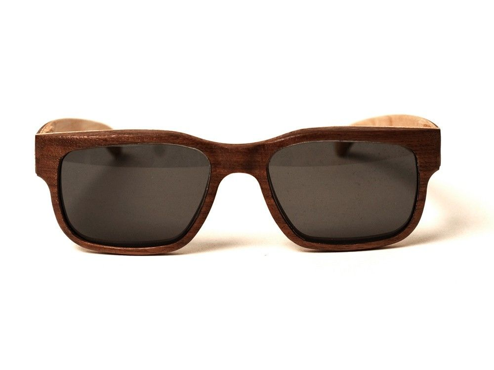 e07bf4a19a19d Walnut Wooden Sunglasses - Wood Thumb Unique wooden sunglasses that were  built to last!
